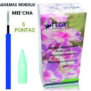 AGULHA/PONTEIRA 5 PONTAS CIRCULAR - MEI-CHA