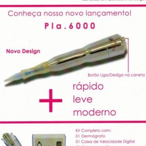 DERMÓGRAFO GR PLA-6000 - LANÇAMENTO - GR